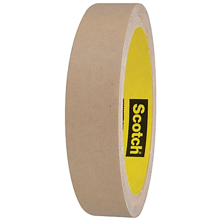 """Scotch® 9482PC Adhesive Transfer Tape Hand Rolls, 3"""" Core, 1"""" x 60 Yd., Clear, Case Of 6"""