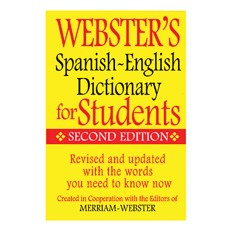 Federal Streets Press Webster's Everyday Spanish-English Dictionary 2014 Edition