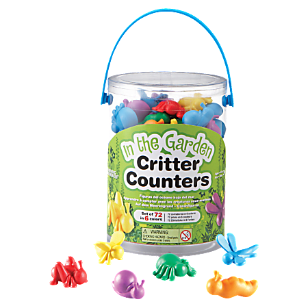 Learning Resources In The Garden Critter Counters, Ages 3 And Up