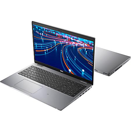"""Dell Latitude 5000 5520 15.6"""" Notebook  - Intel Core i5 (11th Gen) i5-1145G7 Quad-core (4 Core) 2.60 GHz - 8 GB RAM - 256 GB SSD - Gray - Windows 10 Pro - Intel Iris Xe Graphics"""