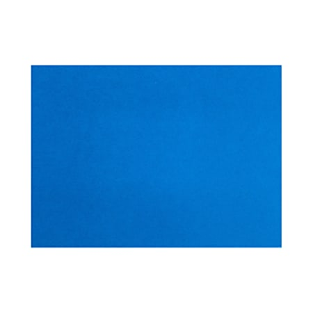 """LUX Flat Cards, A6, 4 5/8"""" x 6 1/4"""", Boutique Blue, Pack Of 500"""