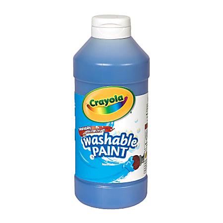 Crayola® Washable Paint, Blue, 16 Oz