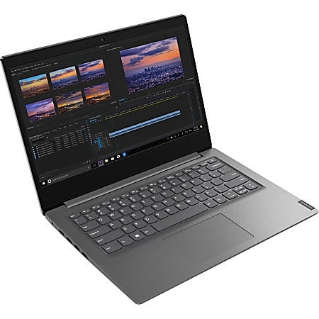"Lenovo V14-ARE 82DQ000PUS 14"" Notebook - Full HD - 1920 x 1080 - AMD Ryzen 5 4500U Hexa-core (6 Core) 2.30 GHz - 8 GB RAM - 256 GB SSD - Iron Gray - Windows 10 Pro - AMD Radeon Graphics - Twisted nematic (TN) - English Keyboard"