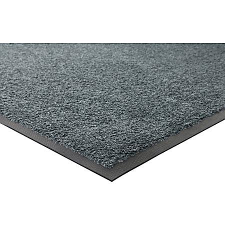 Genuine Joe Platinum Series Walk-Off Indoor Mat, 4' x 6', Gray