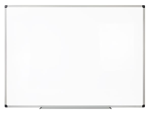 """Realspace™ Magnetic Dry-Erase Whiteboard, 36"""" x 48"""", Aluminum Frame With Silver Finish"""