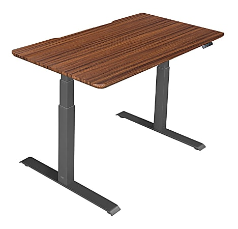 "Vari Electric Standing Desk, 48""W, Darkwood"