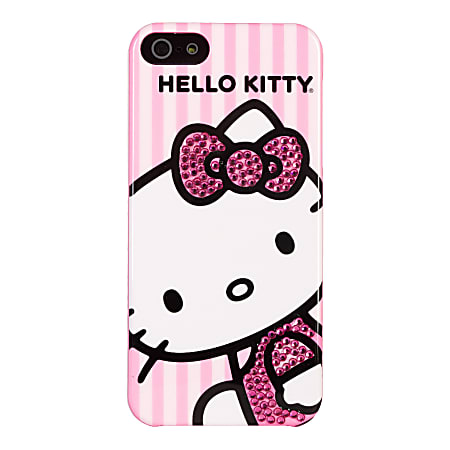 Hello Kitty® Bling Case For Apple® iPhone® 5, Pink