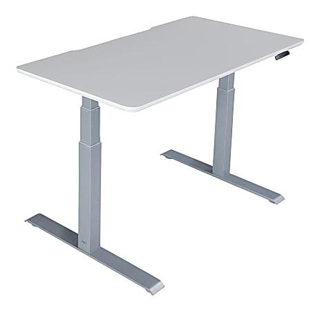 "Vari Electric Standing Desk, 48""W, White"
