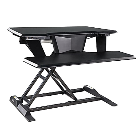 VariDesk Electric ProPlus 32 Standing Desk Converter, Black