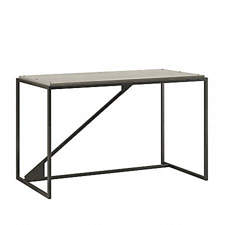 "Bush Furniture Refinery 50""W Industrial Desk, Cottage White, Standard Delivery"