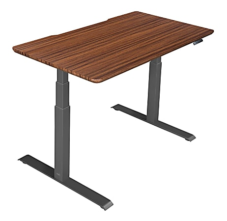 "Vari Electric Standing Desk, 60""W, Darkwood"