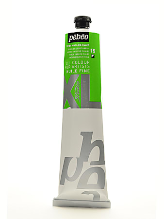 Pebeo Studio XL Oil Paint, 200 mL, English Light Green, Pack Of 2