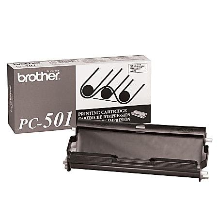 Brother® PC-501 Black Thermal Cartridge