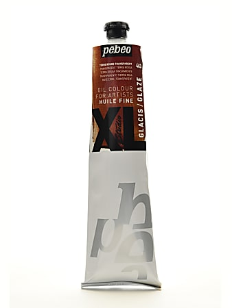 Pebeo Studio XL Oil Paint, 200 mL, Glaze Red Earth, Pack Of 2