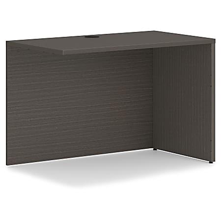 "HON® Mod Desk Return Shell Credenza, 29""H x 42""W x 24""D, Slate Teak"