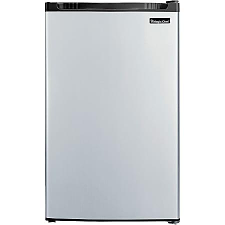 Magic Chef® 4.4 Cu Ft Mini Refrigerator, Stainless Steel