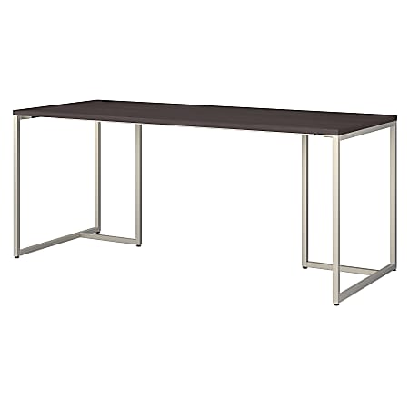 """kathy ireland® Office by Bush Business Furniture Method Table Desk, 72""""W, Storm Gray, Standard Delivery"""