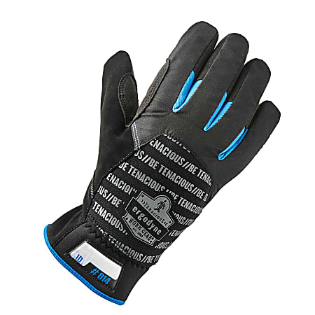 Ergodyne ProFlex 814 Thermal Utility Gloves, XX-Large, Black