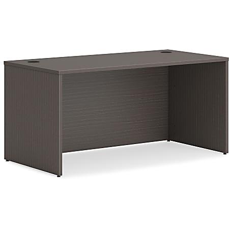 "HON® Mod 60""W Rectangle Desk Shell, Slate Teak"