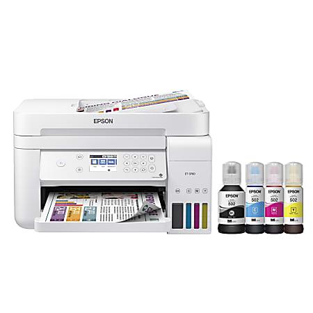Epson® EcoTank® ET-3760 Wireless SuperTank® Color All-In-One Printer