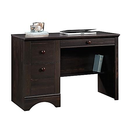 Sauder® Harbor View Computer Desk, Antiqued Paint