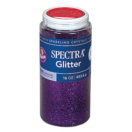 Pacon® Spectra Glitter, 1 Lb, Purple, Pack Of 2 Jars