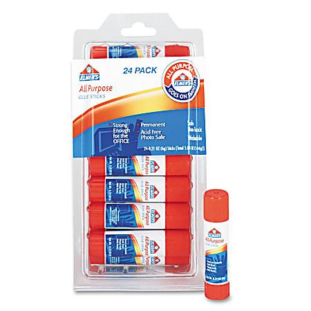 Disappearing Glue Stick, 0.21 oz, 24/Pack