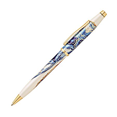 Cross® Wanderlust Ballpoint Pen, Medium Point, 1.0 mm, Malta Barrel, Black Ink