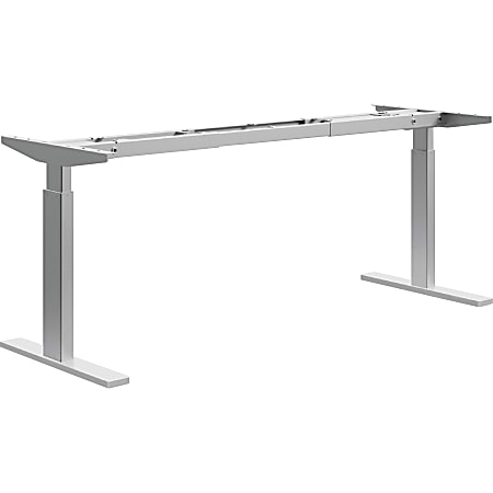 "HON® Sit-to-Stand 2-Stage Adjustable-Height Stage Base, 45-1/4""H x 72""W x 24""D, White"