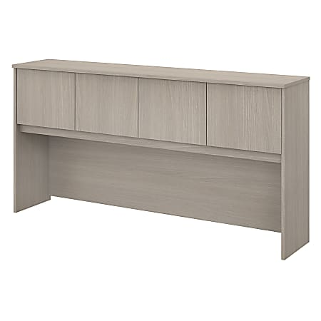 "Bush Business Furniture Studio C 72""W Hutch, Sand Oak, Standard Delivery"
