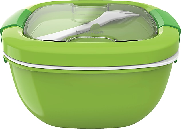 """Bentgo Salad Lunch Container, 4"""" x 7-1/4"""", Green"""