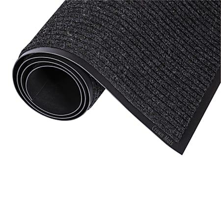 Crown Needle-Rib™ Wiper/Scraper Mat, 2' x 3', Charcoal