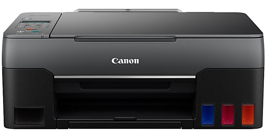 Canon PIXMA G3260 Inkjet Multifunction Printer - Color - Copier/Printer/Scanner - 4800 x 1200 dpi Print - 600 dpi Optical Scan - 100 sheets Input - Wireless LAN