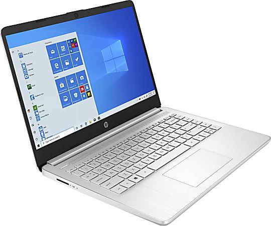 "HP 14-fq0015od Laptop, 14"" Screen, AMD 3020e, 4GB Memory, 64GB eMMC, Windows® 10, 4G539UA#ABA"
