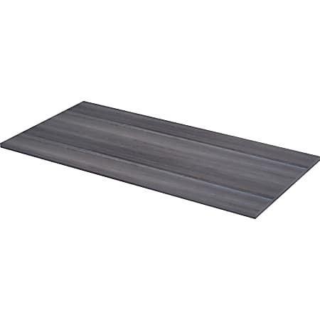 """Lorell® Relevance Series Desk Top, 60""""W x 29 1/2""""D, Charcoal"""