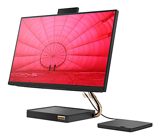 """Lenovo® IdeaCentre 5i All-In-One PC, 23.8"""" Touch Screen, Intel® Core™ i5, 8GB Memory, 256GB Solid State Drive, Windows® 10, F0FB0000US"""