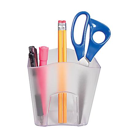 Office Depot® Brand Jumbo Pencil Holder, Clear