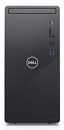 Dell™ Inspiron 3880 Desktop PC, Intel® Core™ i3, 8GB Memory, 1TB Hard Drive, Windows® 10, I3880-3777BLK-PUS