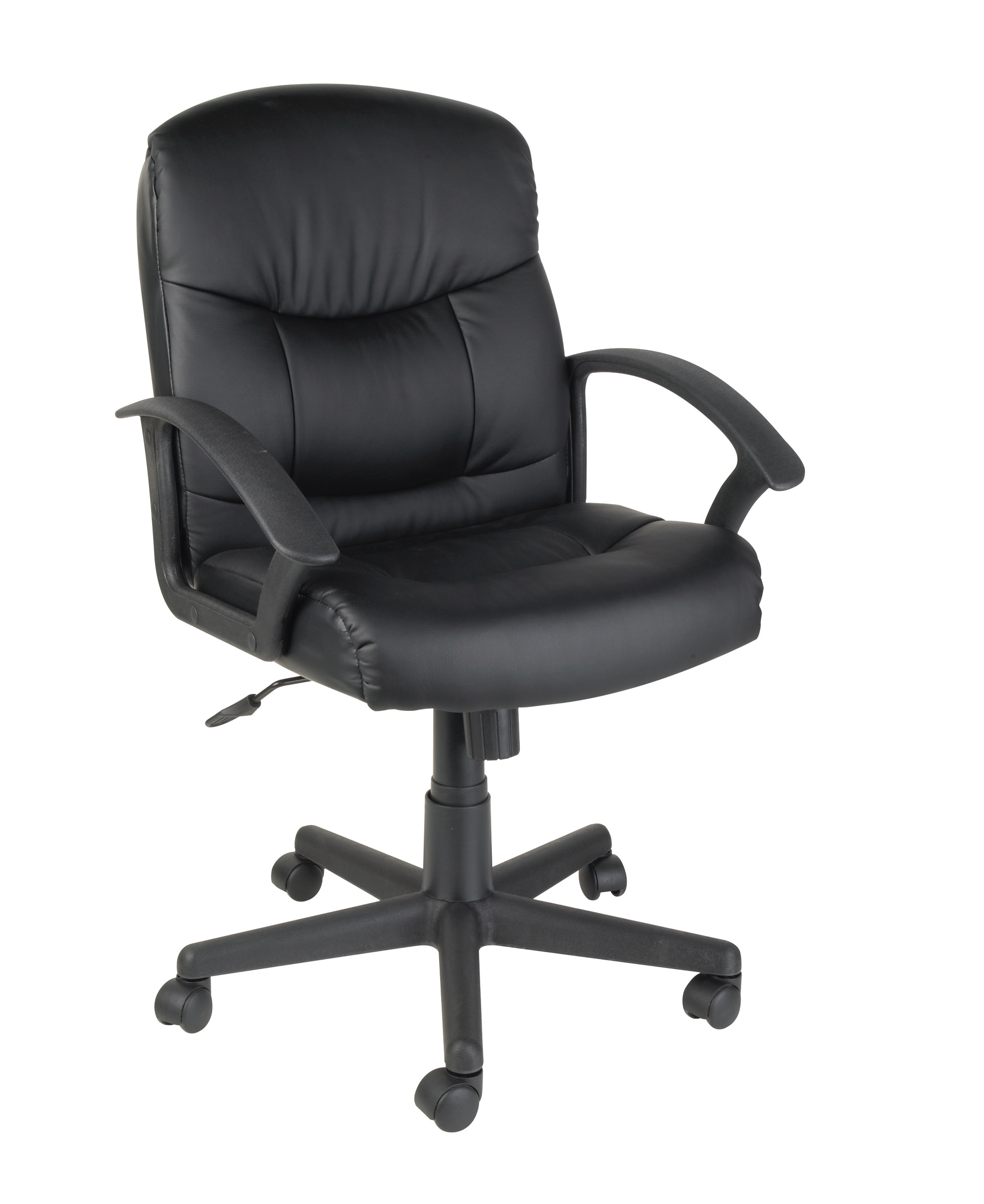 Glee II Mid-Back Manager Chair, Black