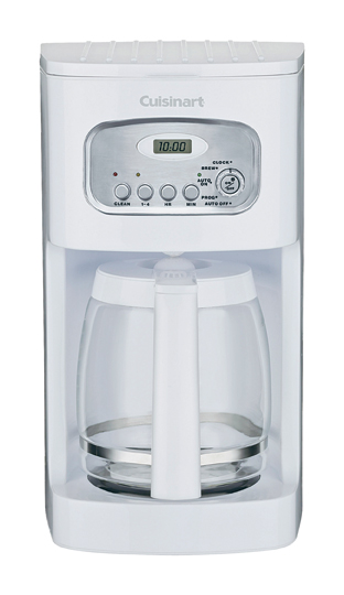 Cuisinart® 12-Cup Programmable Coffeemaker, White
