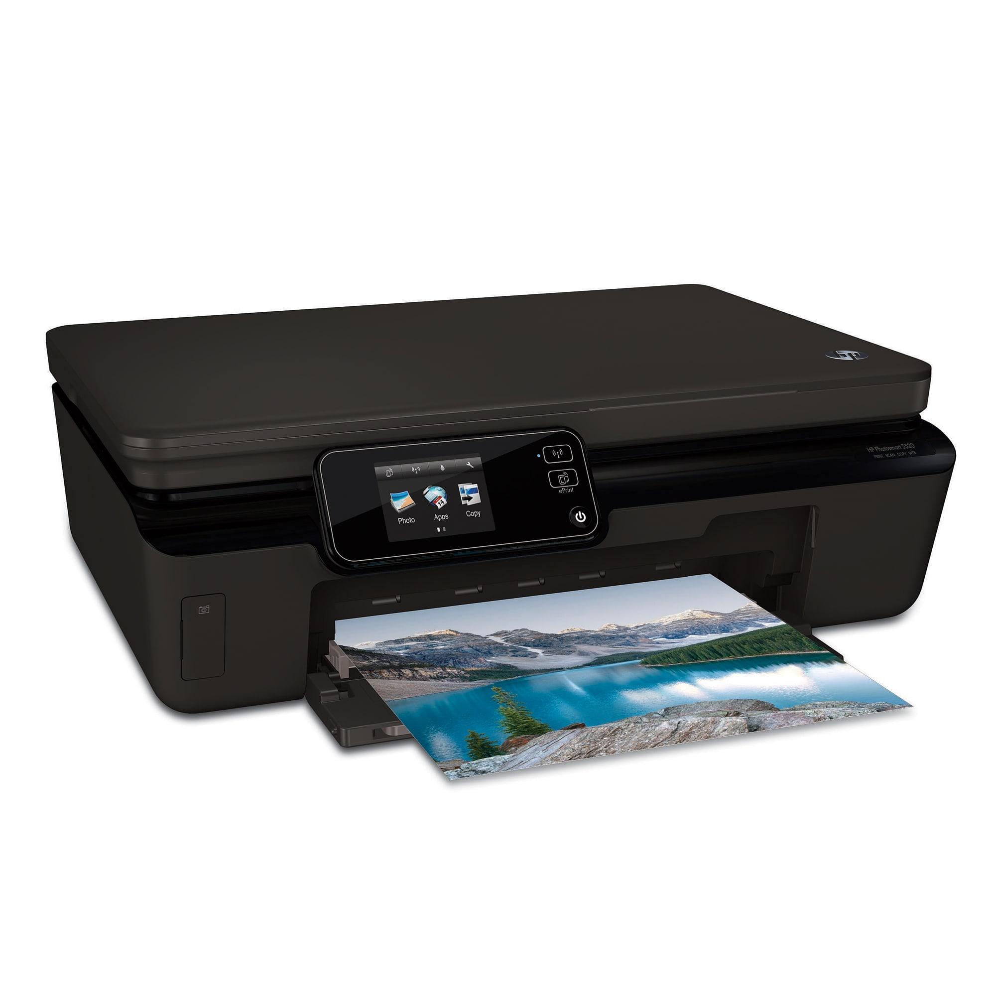HP Photosmart 5520 e-All-In-One Inkjet Printer, Copier, Scanner