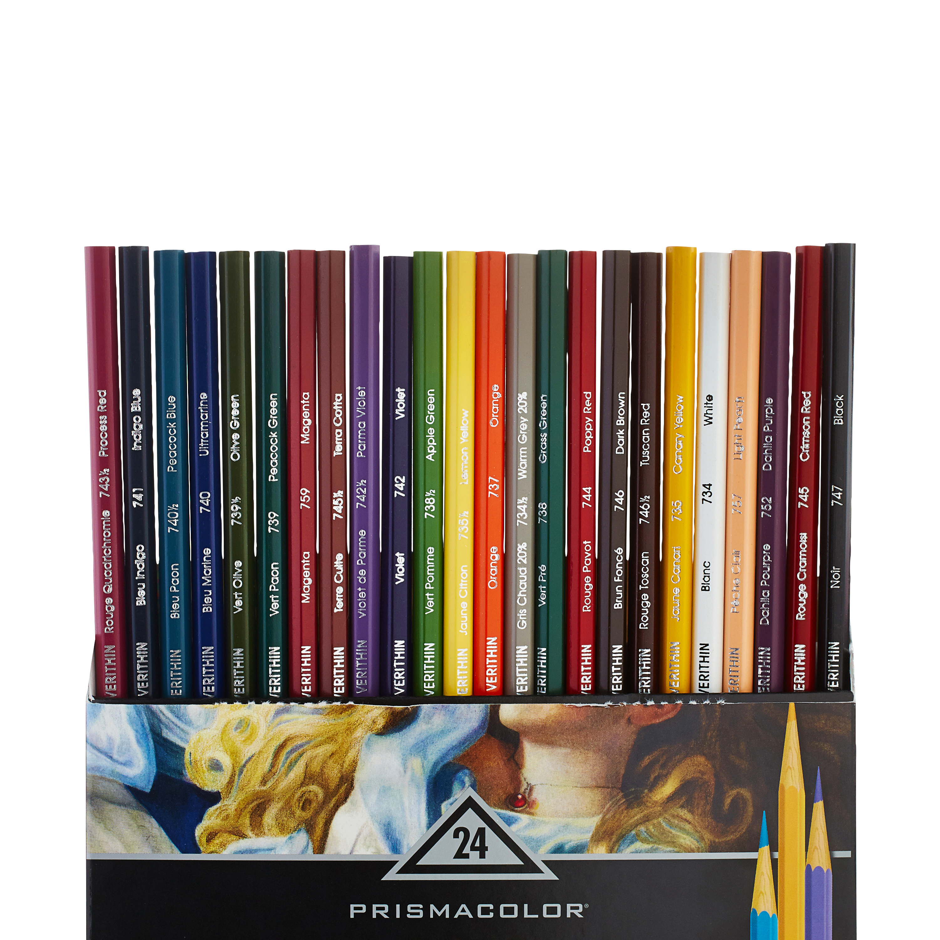 Prismacolor® Verithin® Art Color Pencils, Assorted, Pack of 24