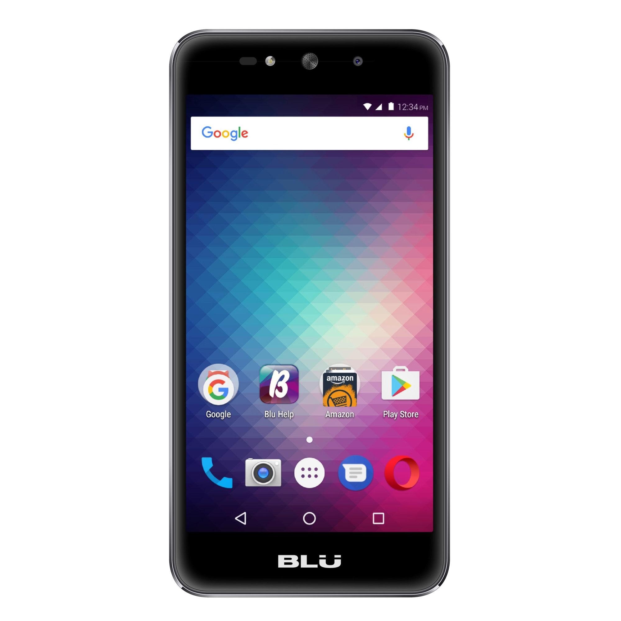 BLU Grand Max G110Q Cell Phone, Gray, PBN201193