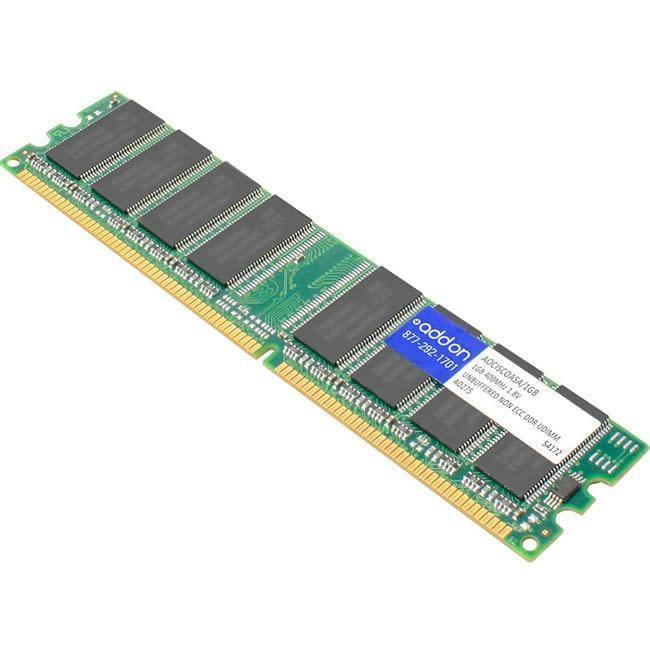 AddOn Cisco CISCOASA/1GB Compatible 1GB DRAM Upgrade - 100% compatible and guaranteed to work