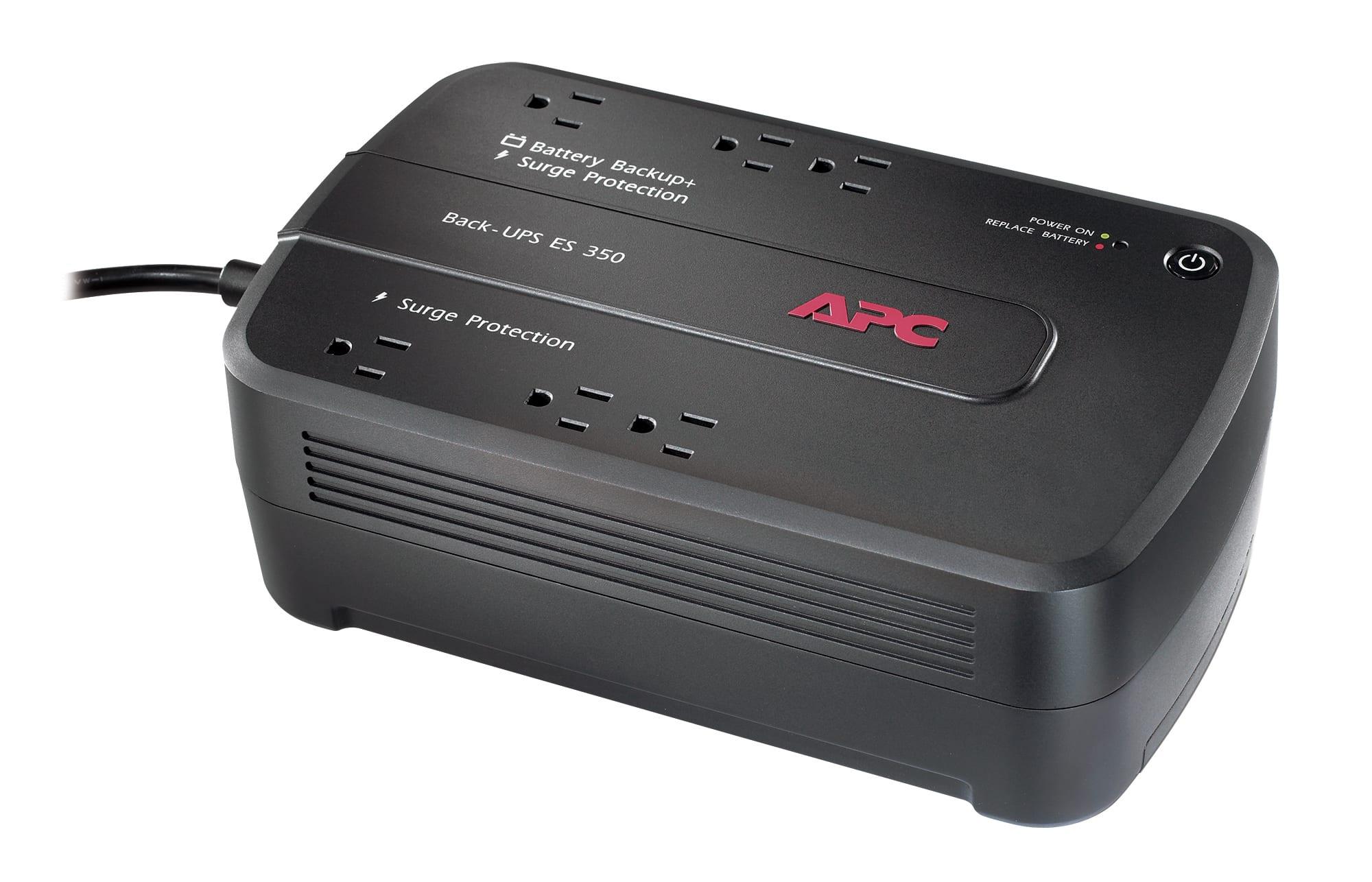 APC® Back-UPS® ES 350VA Battery Backup
