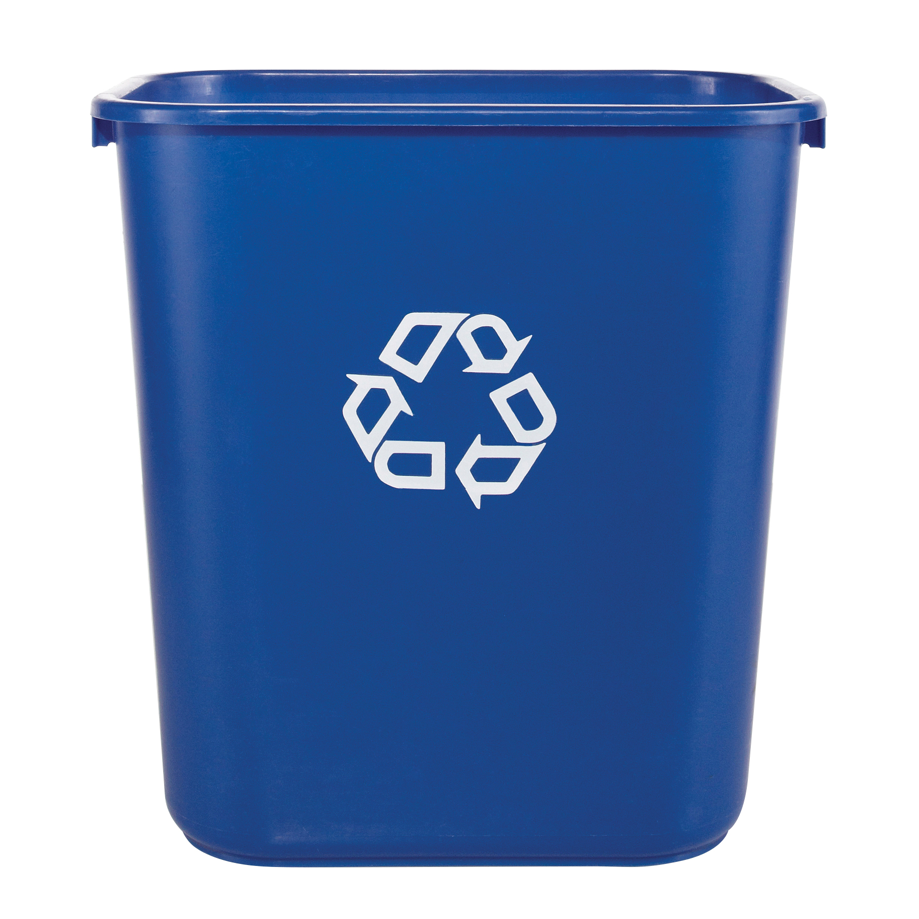 Rubbermaid® Desk-Side Container, 7-Gallons, Blue