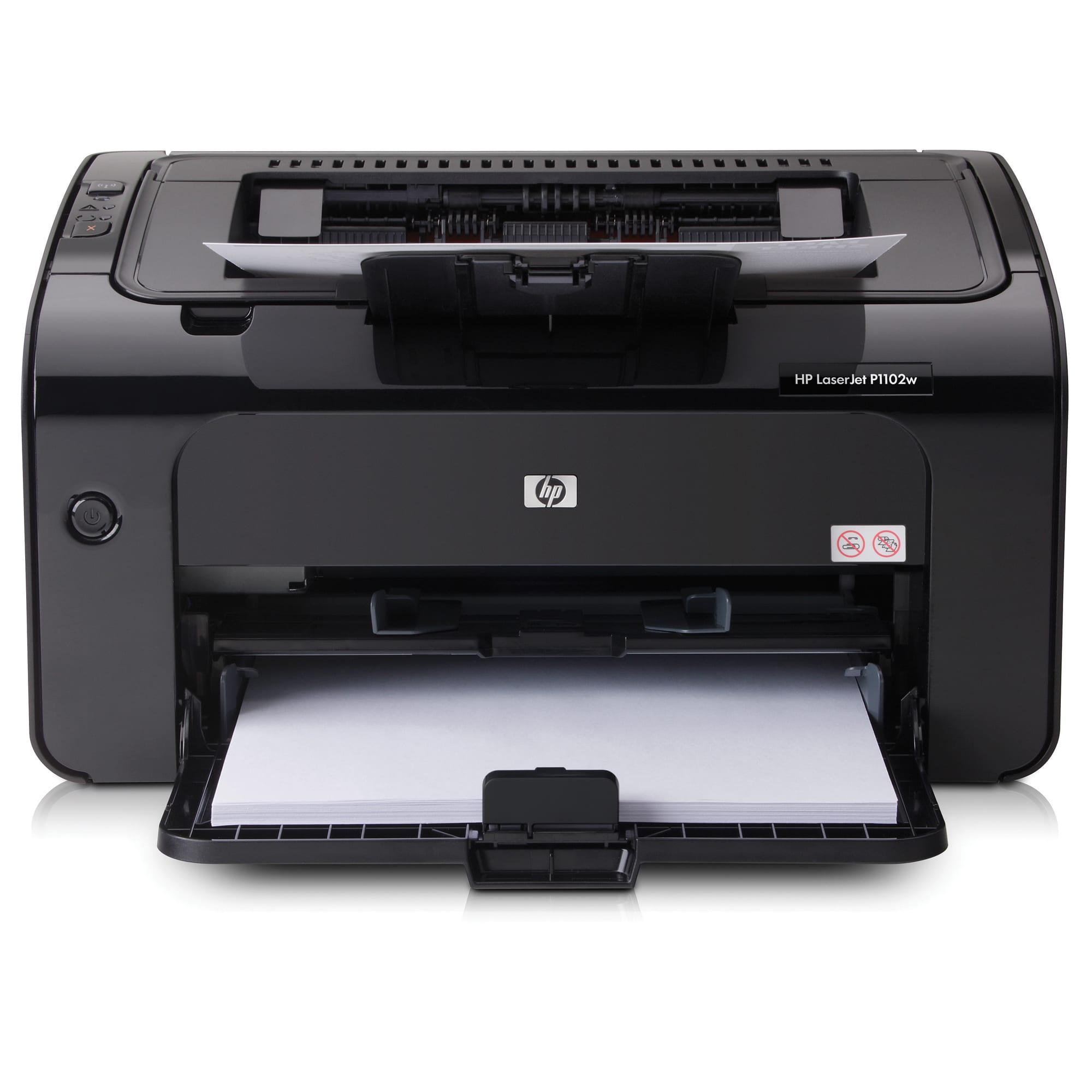 HP LaserJet Pro Wireless Monochrome Laser Printer, P1102w