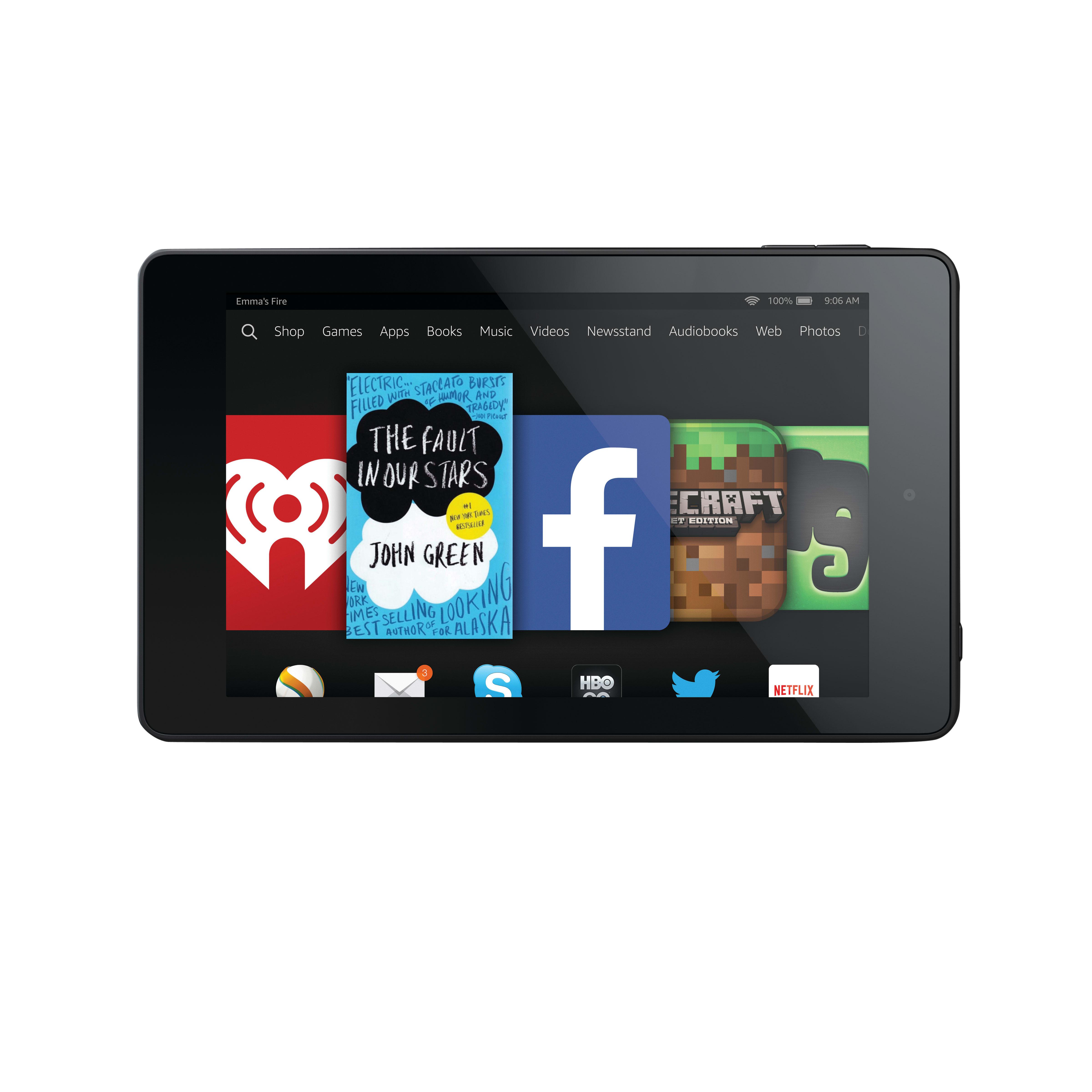 "Amazon Kindle Fire HD 6, 6"", Wi-Fi Tablet, 8GB, B00KC6I06S"