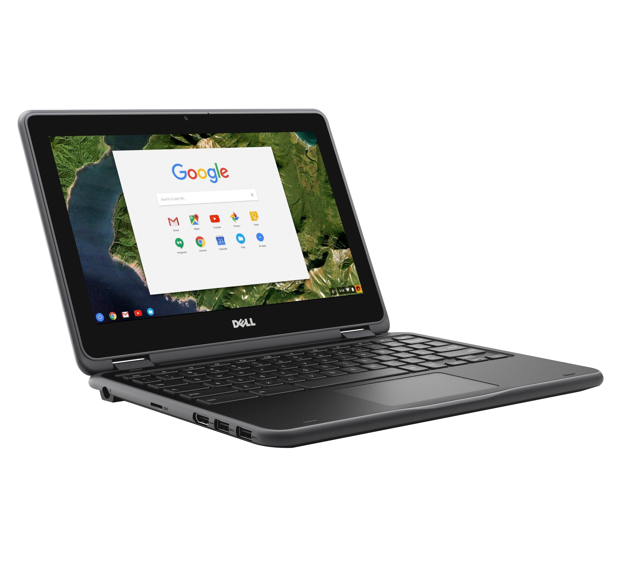 "Dell™ Chromebook 3180 Laptop, 11.6"" Screen, Intel® Celeron® N3060, 4GB Memory, 16GB eMMC, Chrome OS"