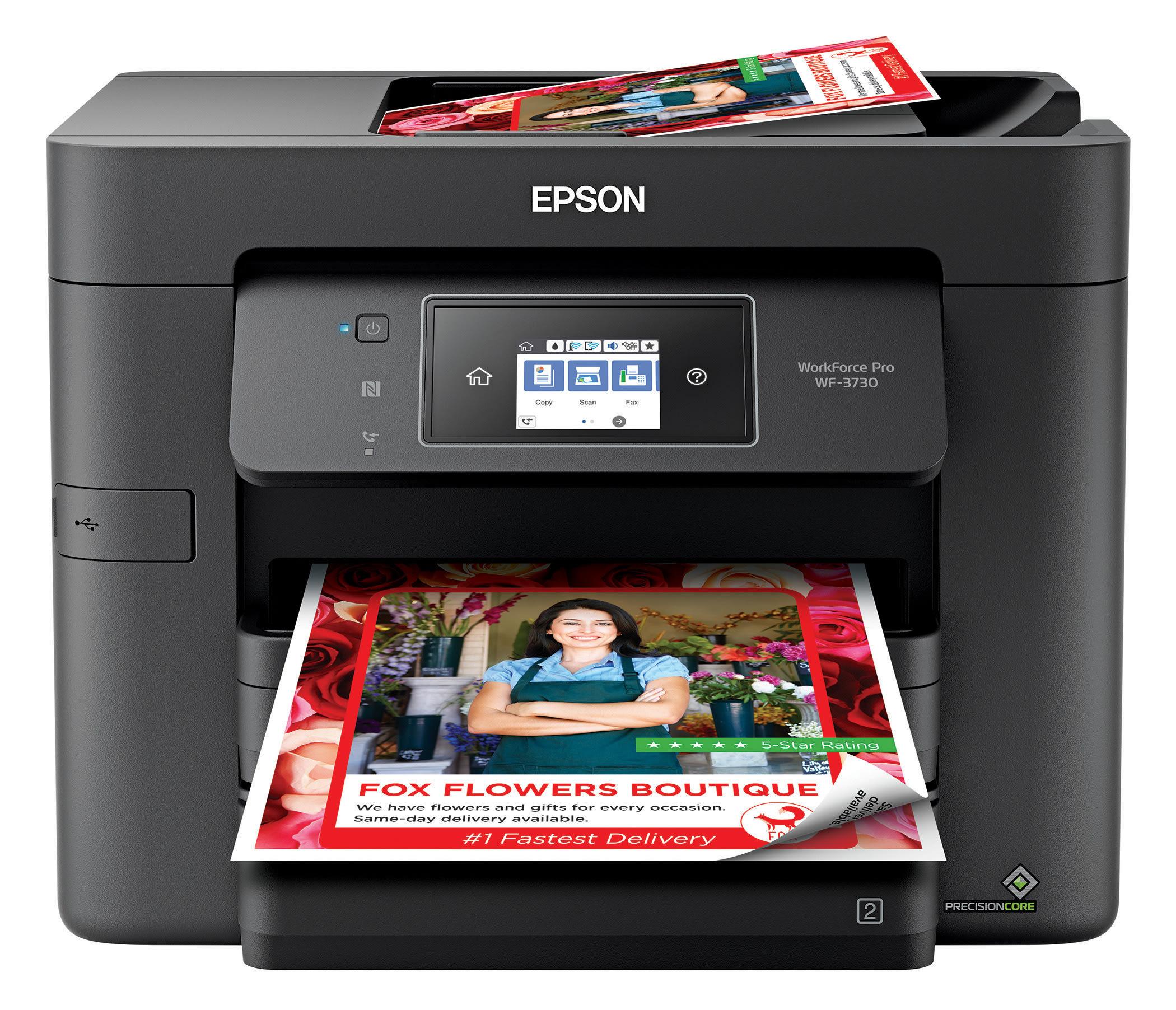 Epson® WorkForce® Pro WF-3730 Wireless InkJet All-In-One Color Printer